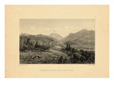 1859  Franconia Notch View  New Hampshire  United States