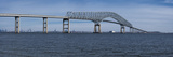 Bridge across a River  Francis Scott Key Bridge  Patapsco River  Baltimore  Maryland  USA