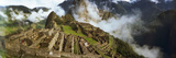 Ruins of Buildings at an Archaeological Site  Inca Ruins  Machu Picchu  Cusco Region  Peru