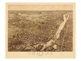 1881  Troy 1881 Bird's Eye View 23x39  New York  United States