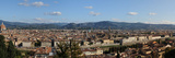 City Viewed from Giardino Bardini  Florence  Tuscany  Italy