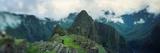 High Angle View of an Archaeological Site  Inca Ruins  Machu Picchu  Cusco Region  Peru