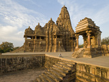 Staircase in a Temple  Khajuraho  Chhatarpur District  Madhya Pradesh  India