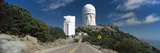 Road Leading to Observatory  Kitt Peak National Observatory  Arizona  USA