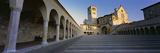 Staircase of a Basilica  Basilica of San Francesco D'Assisi  Assisi  Perugia Province  Umbria  I