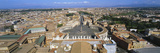 Overview of the Historic Centre of Rome and St Peter's Square  Vatican City  Rome  Lazio  Italy