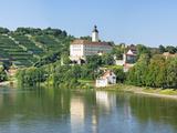 Horneck Castle  Gundelsheim  Neckar River  Baden-Wurttemberg  Germany