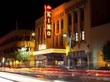 Neon Sign at a Theater  Kimo Theater  Albuquerque  Bernalillo County  New Mexico  USA