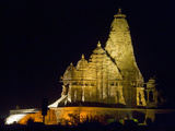 Temple in a Town  Khajuraho  Chhatarpur District  Madhya Pradesh  India