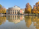 Entertainment Building at the Waterfront  Opera House  Stuttgart  Baden-Wurttemberg  Germany