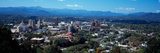 Aerial View of a City  Asheville  Buncombe County  North Carolina  USA