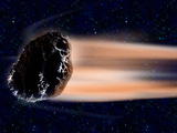 Meteor Coming at Earth