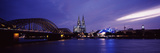 City at Dusk  Musical Dome  Cologne Cathedral  Hohenzollern Bridge  Rhine River  Cologne  North