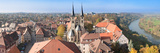 Old Town Viewed from Blue Tower  Bad Wimpfen  Baden-Wurttemberg  Germany
