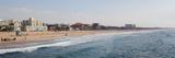 Surf on the Beach  Santa Monica Beach  Santa Monica  Los Angeles County  California  USA