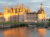 Castle at the Waterfront  Chateau Royal De Chambord  Chambord  Loire-Et-Cher  Loire Valley  Loir