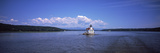 Lighthouse at a River  Esopus Meadows Lighthouse  Hudson River  New York State  USA