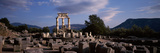Ruins of a Temple  the Tholos  Delphi  Greece