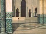 Interiors of a Mosque  Mosque Hassan Ii  Casablanca  Morocco