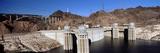 Dam on a River  Hoover Dam  Colorado River  Arizona and Nevada  USA