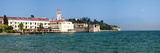Castle at the Lakeside  Scaliger Castle  Lake Garda  Sirmione  Lombardy  Italy