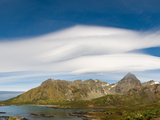 Lenticular Clouds Forming over Cooper Bay  South Georgia Island