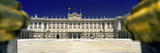 Facade of a Palace  Madrid Royal Palace  Madrid  Spain
