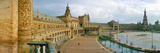 Recently Restored Palace  Plaza De Espana  Seville  Andalusia  Spain