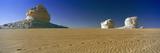Rock Formations in a Desert  White Desert  Farafra Oasis  Egypt
