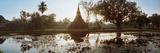 Ruins of a Temple at Dusk  Sukhothai Historical Park  Sukhothai  Thailand