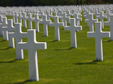 Us Military Cemetery Containing the Graves of More Than 5000 US War Dead from WW2  Hamm  Luxembo
