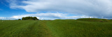The Hill of Tara  Showing a Distant Lia Fail Stone  County Meath  Ireland