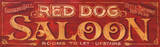 Red Dog Saloon Vintage