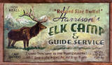 Elk Camp Hunting Vintage