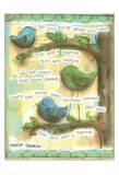 Birds Blue 3
