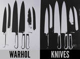 Knives  c 1981-82 (Silver and Black)