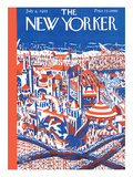 The New Yorker Cover - April 4  1925