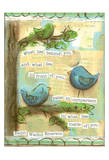 Birds Blue 2