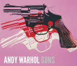 Gun  C 1981-82 (Black  White  Red On Pink)