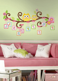 Scroll Tree Letter Branch Peel & Stick Giant Wall Decal