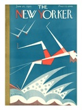 The New Yorker Cover - June 20  1925