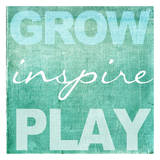 Grow Inspire Play Aqua