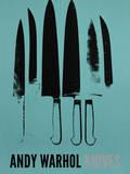 Knives, c. 1981-82 (Aqua) Reproduction d'art par Andy Warhol