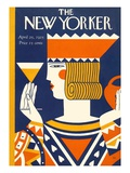 The New Yorker Cover - April 25  1925