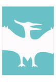 Dino Bird Reproduction d'art par Taylor Greene