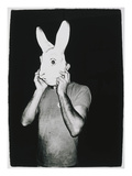 Man With Rabbit Mask  C 1979