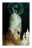The Dead Walk Reproduction pour collectionneurs par Alex Cherry