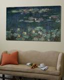 Bassin auxnymphéas,harmonie verte,1899 Toile Murale Géante par Claude Monet