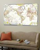 cartes du monde contemporain reproduction et. Black Bedroom Furniture Sets. Home Design Ideas