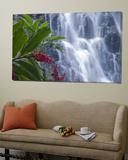 Kepirohi Waterfall  Pohnpei  Federated States of Micronesia